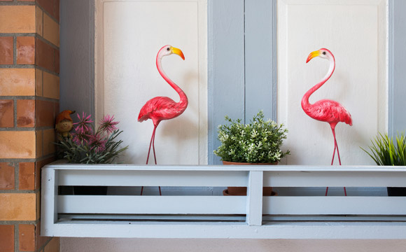 decoracao flamingos 1
