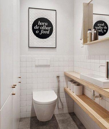 decoracao minimalista banheiro