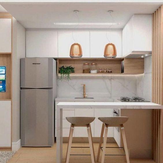 decoracao minimalista cozinha