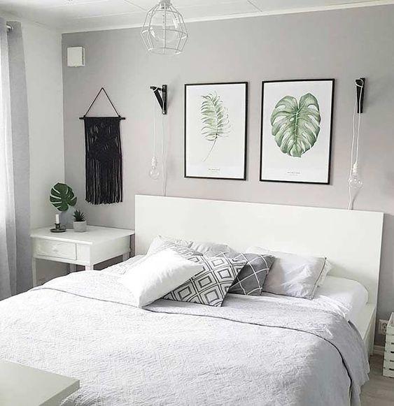 decoracao minimalista quarto simples