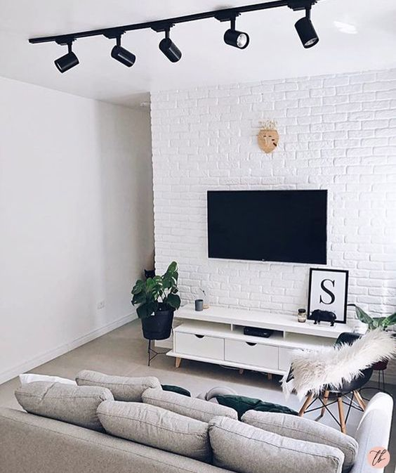 decoracao minimalista sala
