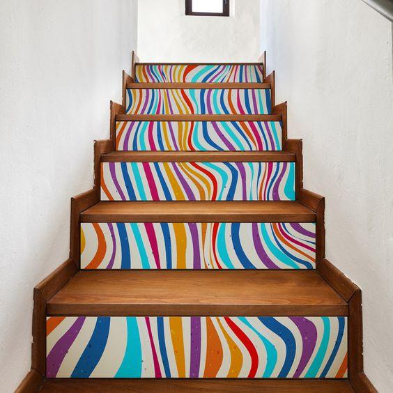 decoracao parede escadas 3