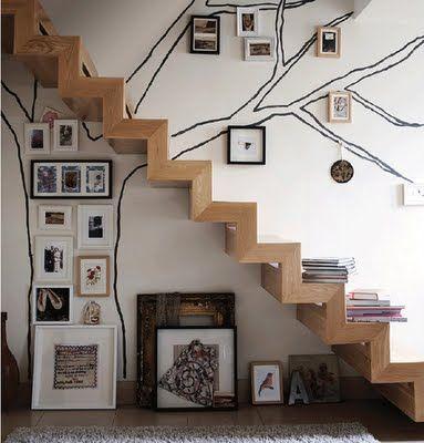 decoracao parede escadas 5
