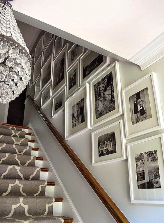 decoracao parede escadas 6
