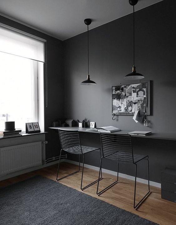 decoracao parede preta 1