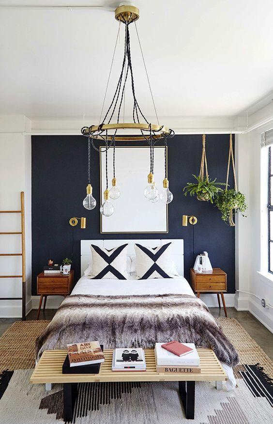 decoracao parede preta quarto 1