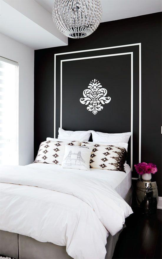 decoracao parede preta quarto 2