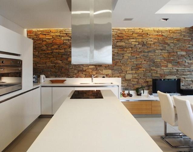 decoracao pedra cozinha