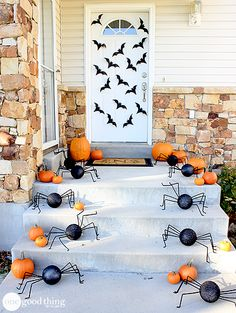 decoracao porta halloween 2