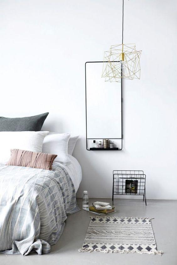 decoracao quarto casal moderno minimalista