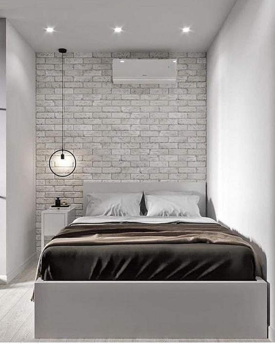 decoracao quarto casal moderno preto