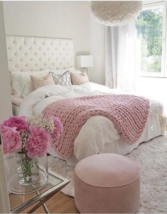 decoracao quarto casal moderno romantico