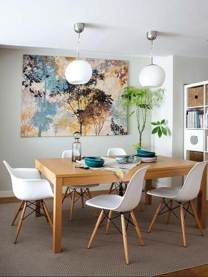 Ideias para decorar sala de jantar pequena for Decoracion de living comedor pequenos