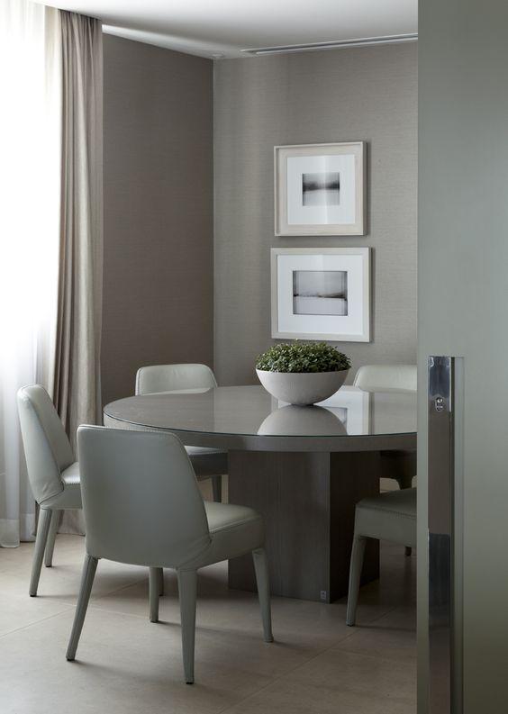 decoracao sala jantar mesa redonda 7