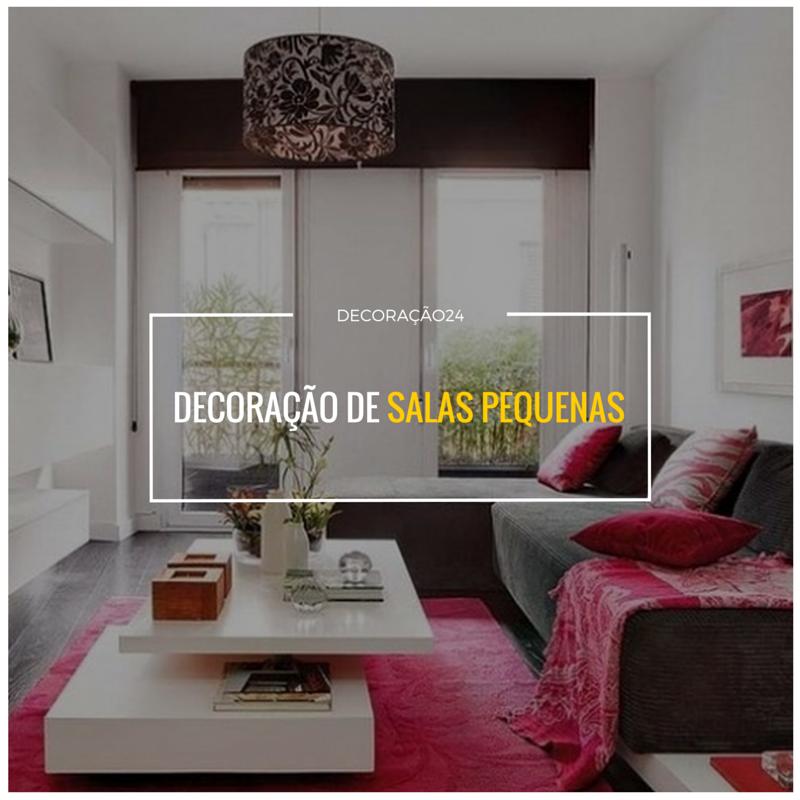 Decoração Para Salas Pequenas: Decoração De Salas Pequenas