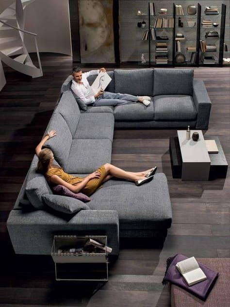 decoracao sofa moderna