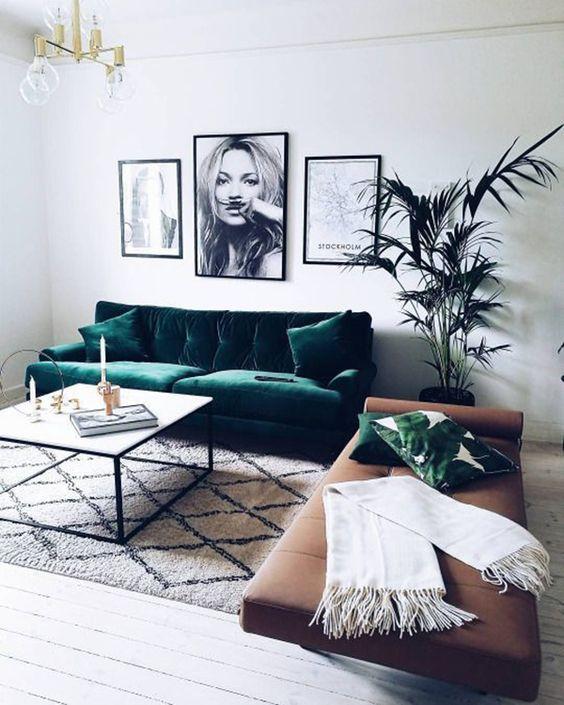 decoracao sofas couro