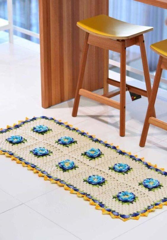 decoracao tapetes croche cozinha 3