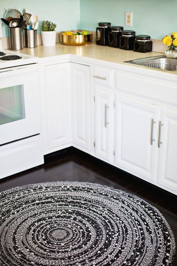 decoracao tapetes croche cozinha