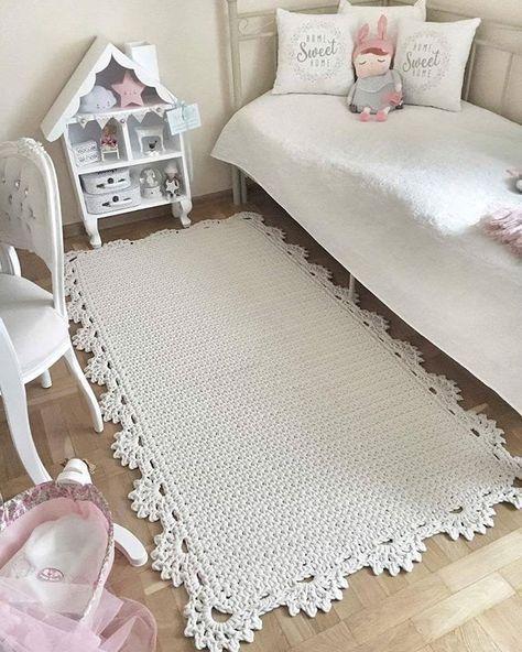 decoracao tapetes croche quarto 4
