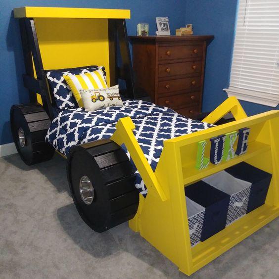decoracao tematica quarto crianca cama