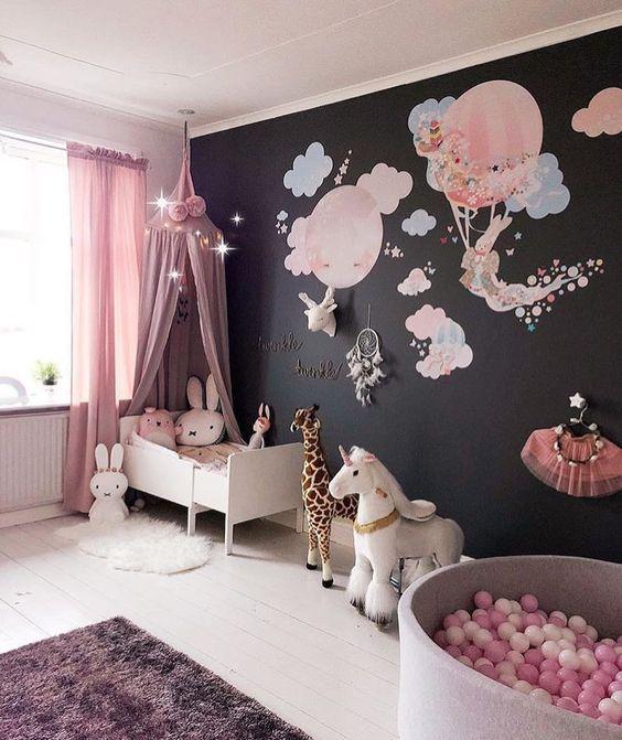 decoracao tematica quarto crianca coelho