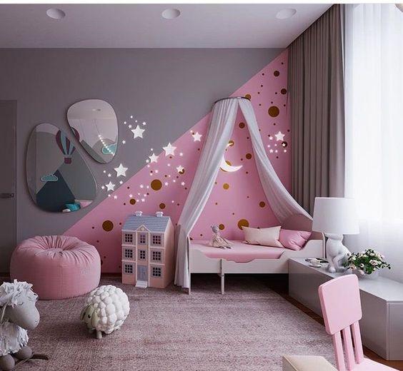 decoracao tematica quarto crianca estrelas