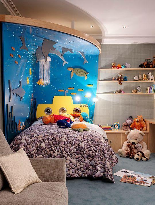 decoracao tematica quarto crianca mar
