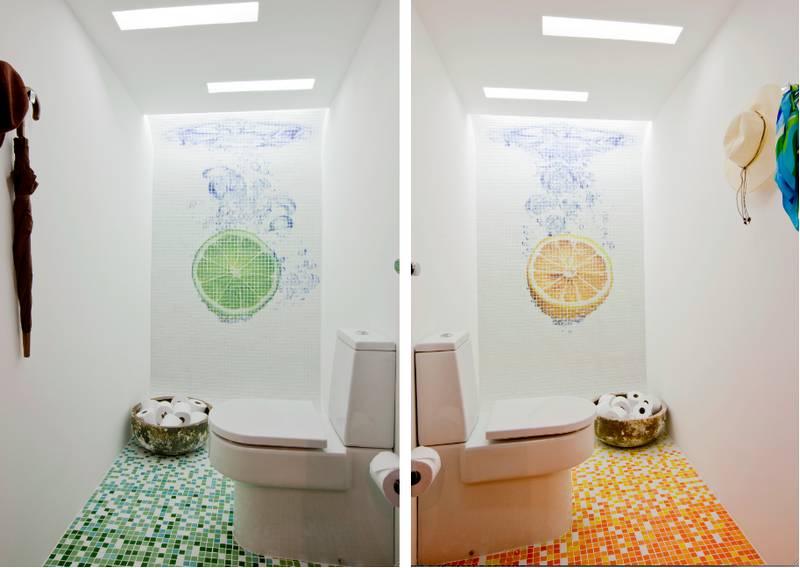decorar banheiros com pastilhas