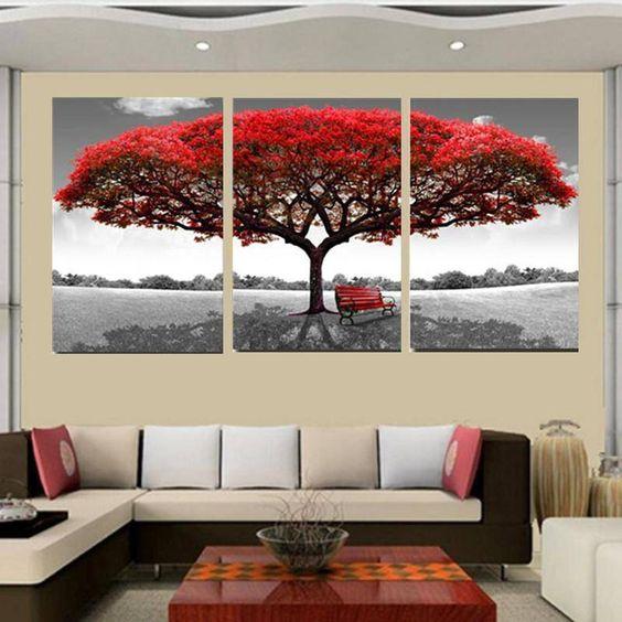 decorar quadros grandes 10