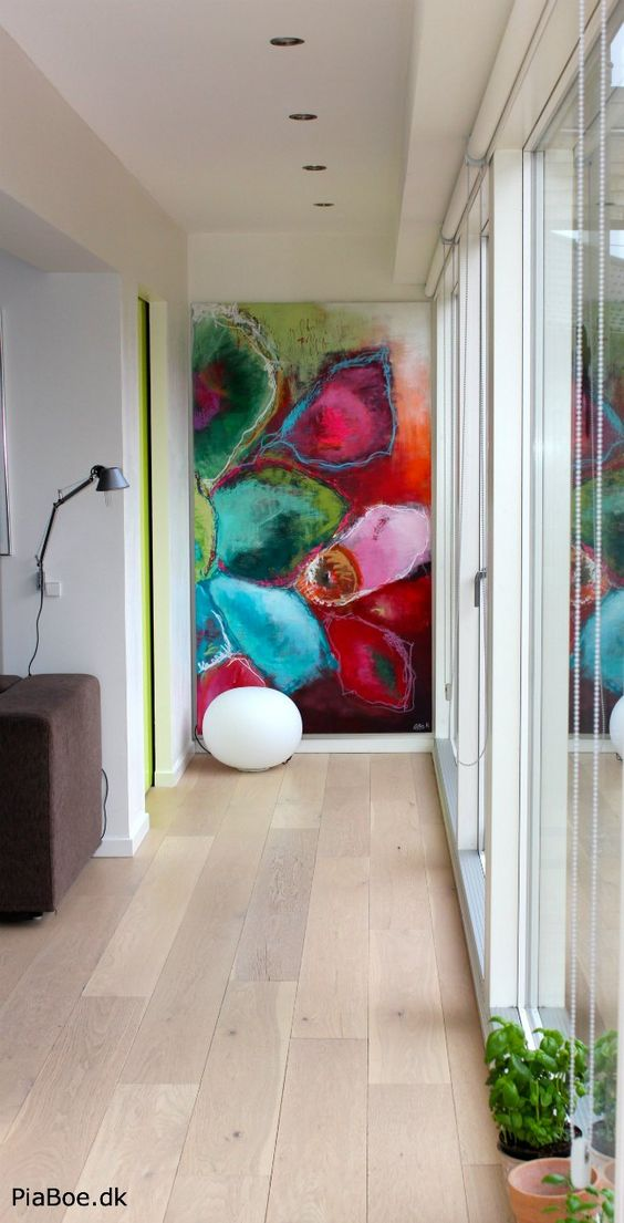 decorar quadros grandes 4