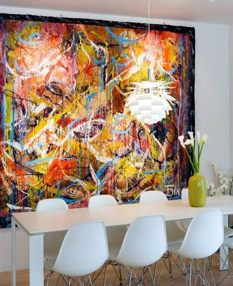 decorar quadros grandes 8