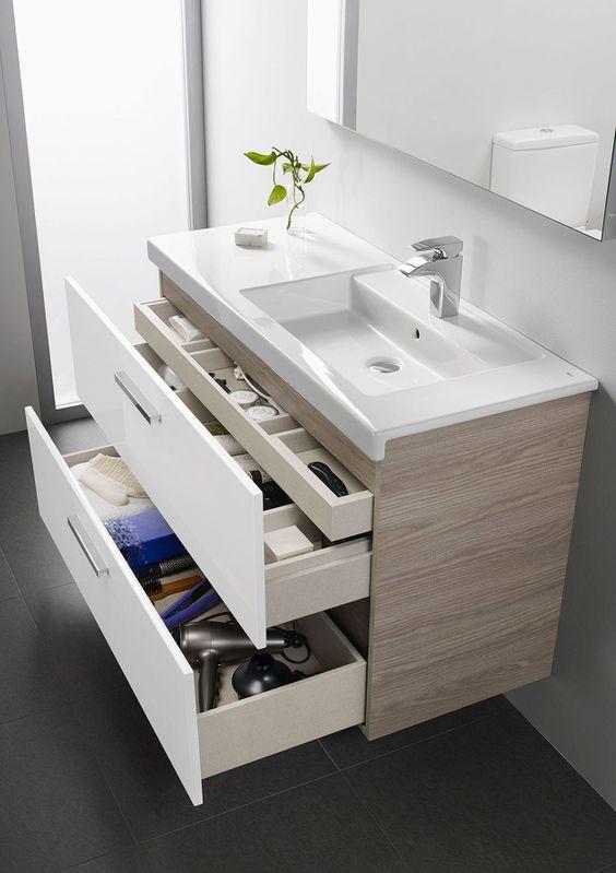 dicas modelos banheiro gabinetes