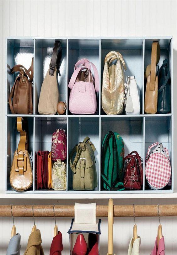 dicas organizar bolsas 6