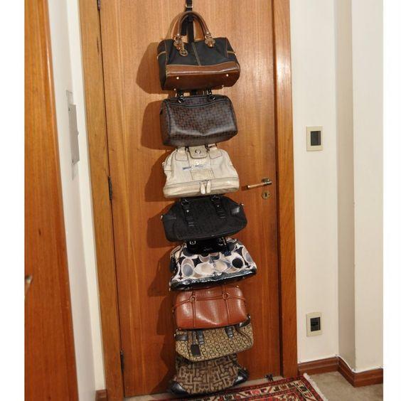 dicas organizar bolsas