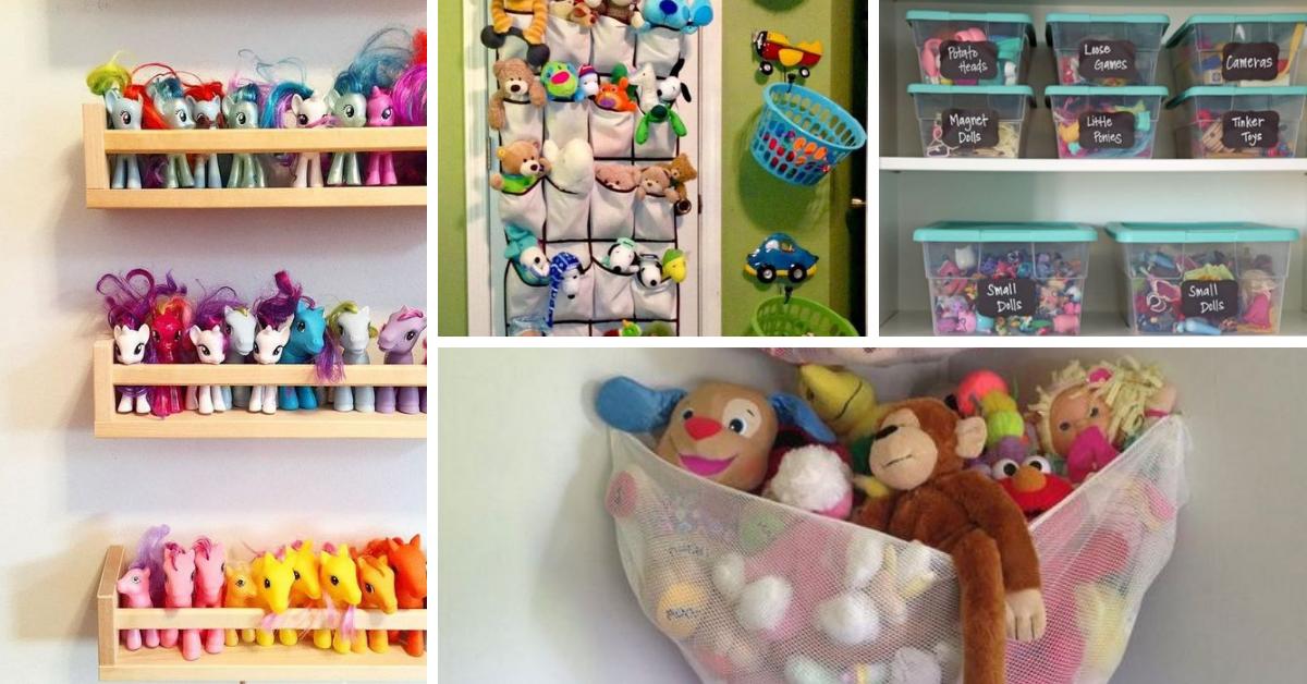 dicas organizar brinquedos