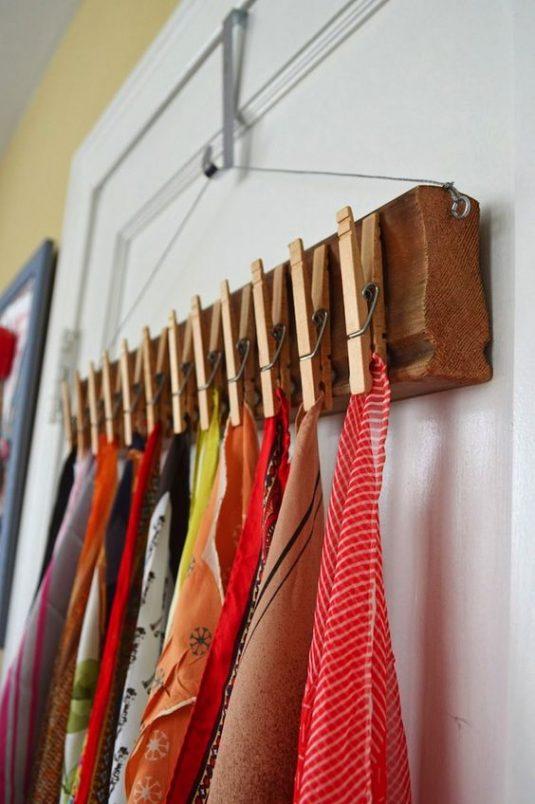 dicas organizar roupa lencos