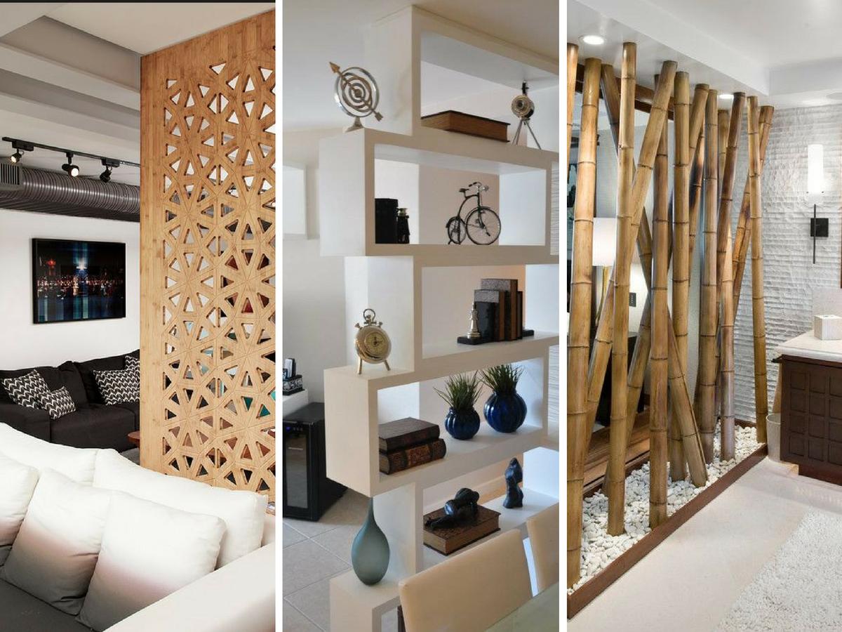 10 divis rias originais para a sua casa for Mamparas decorativas para casa