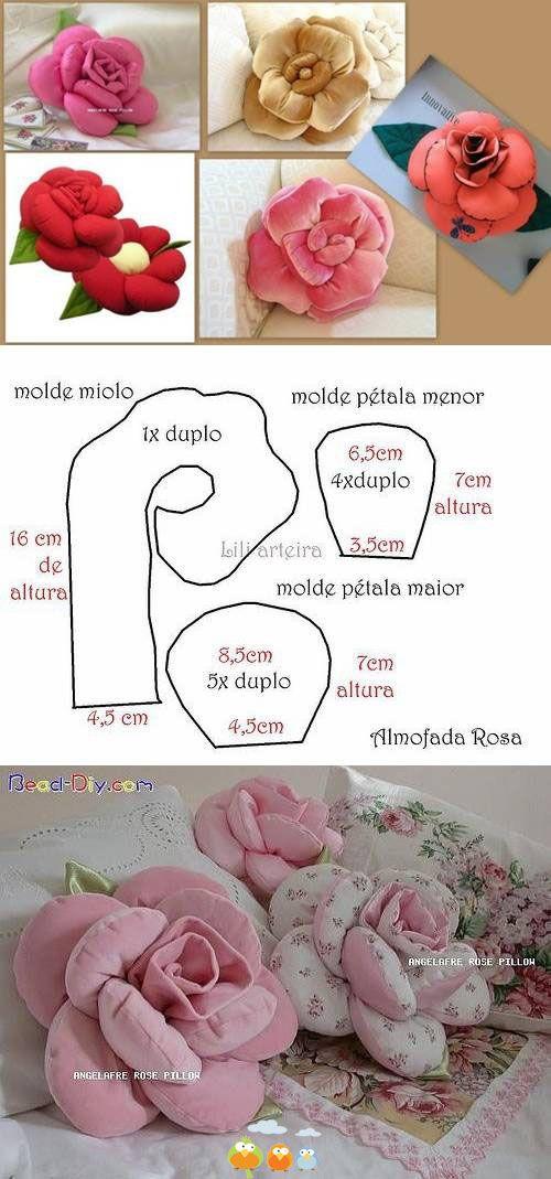 diy almofada flor 4