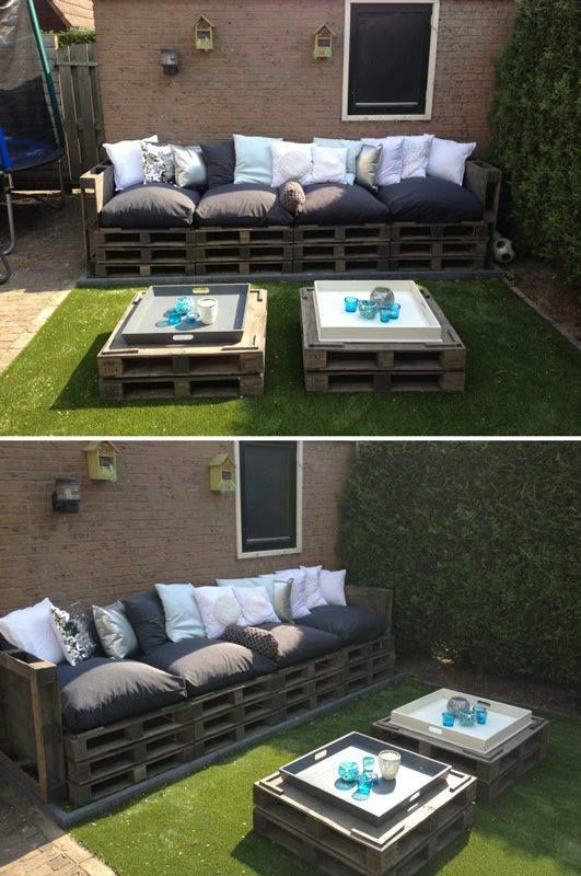 diy decoracao jardim paletes 4