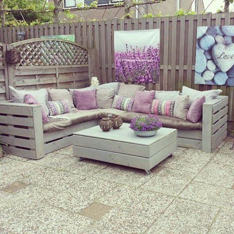 diy decoracao jardim paletes 7