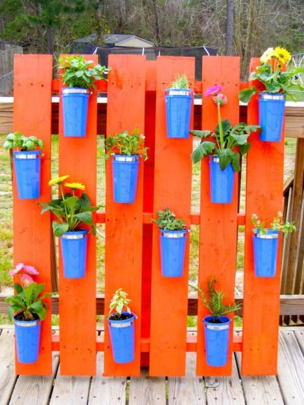 diy decoracao jardim paletes 9