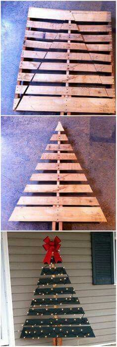 diy decoracao natal paletes 2