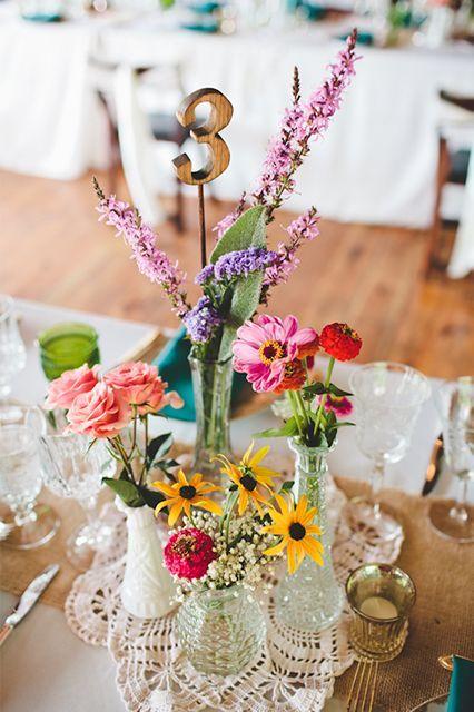 diy ideias decoracao casamento centro mesa