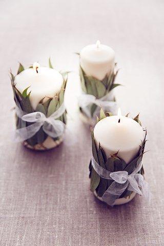 diy lembrancinha casamento vela