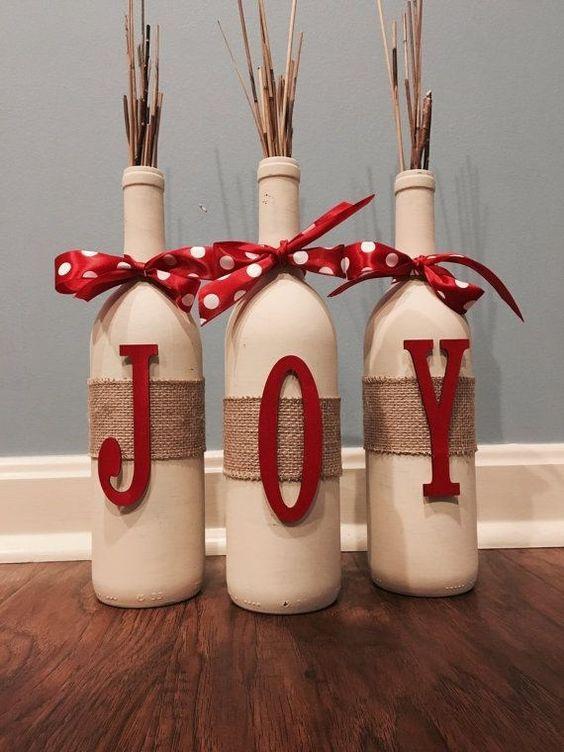 enfeite natal reciclado barato garrafas