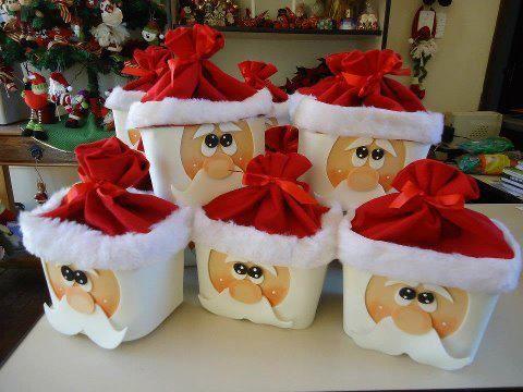 enfeite natal reciclado barato pote sorvete