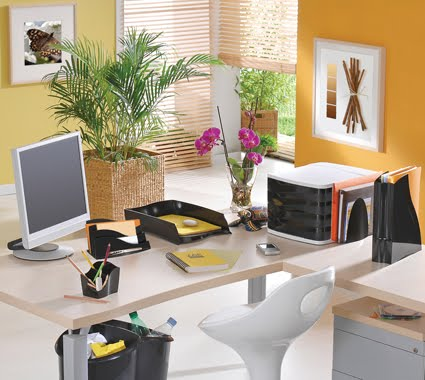 escritorio decoracao feng shui