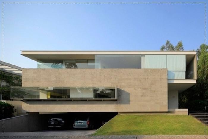 fachada de casa com classe