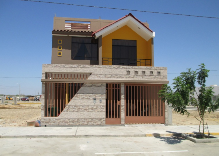 fachada de casa junto a praia